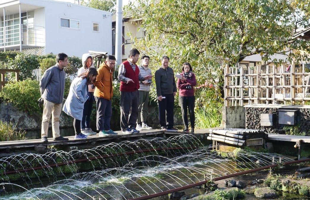 《社區裡的那條溪流》 源兵衛川與鹿港溪的對話